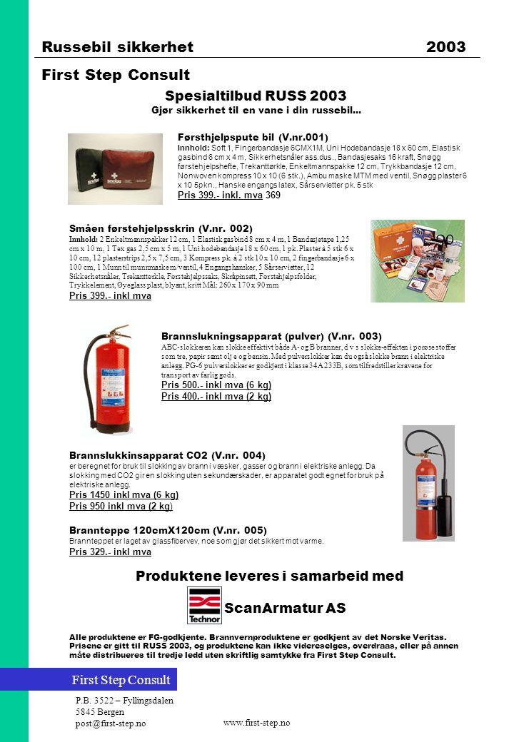 Produktene leveres i samarbeid med ScanArmatur AS