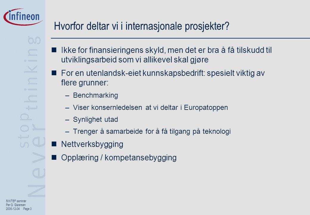 Hvorfor deltar vi i internasjonale prosjekter