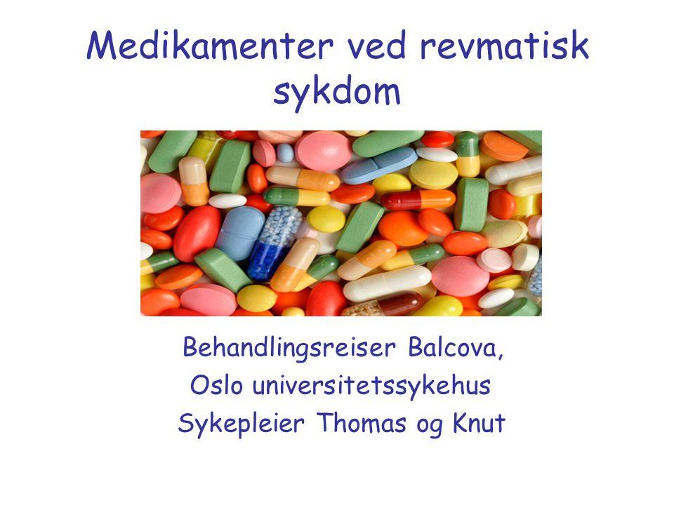 Medikamenter ved revmatisk sykdom