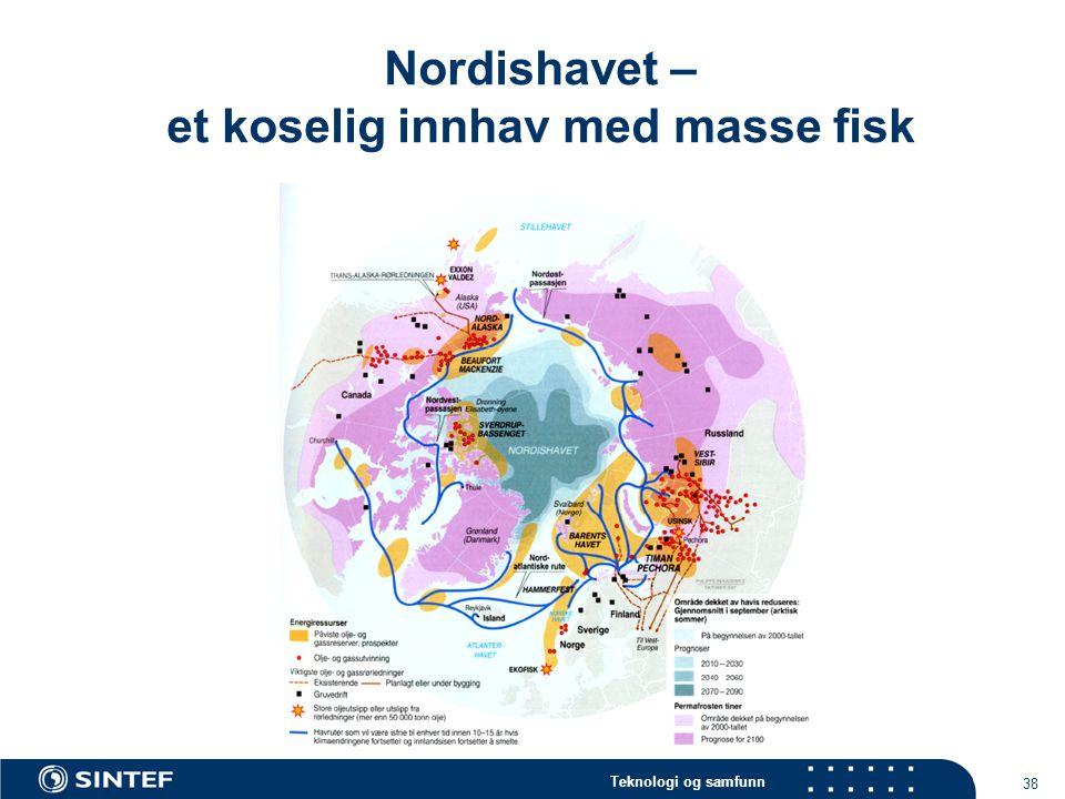 Nordishavet – et koselig innhav med masse fisk