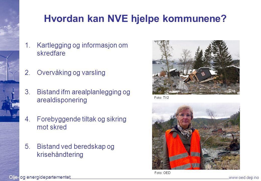 Hvordan kan NVE hjelpe kommunene