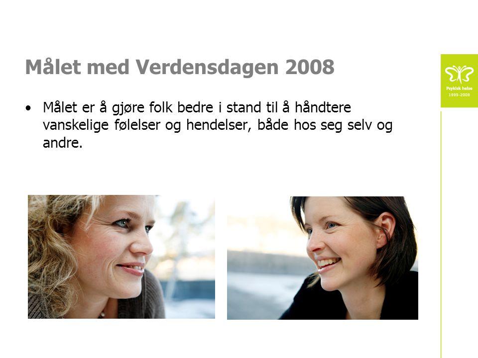 Målet med Verdensdagen 2008