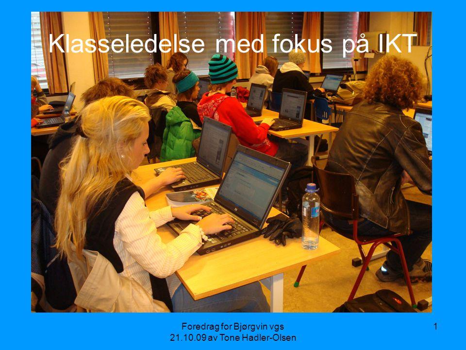 Klasseledelse med fokus på IKT