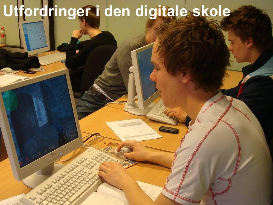 Utfordringer i den digitale skole