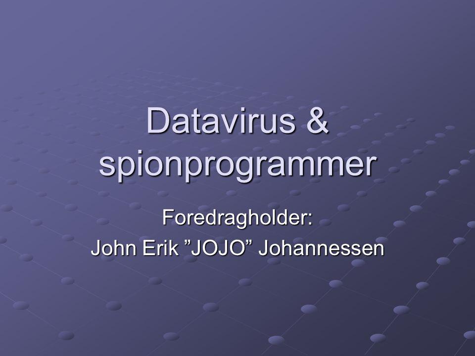 Datavirus & spionprogrammer