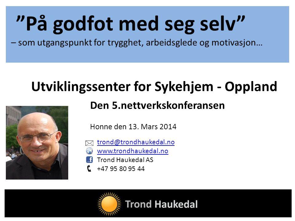 Utviklingssenter for Sykehjem - Oppland
