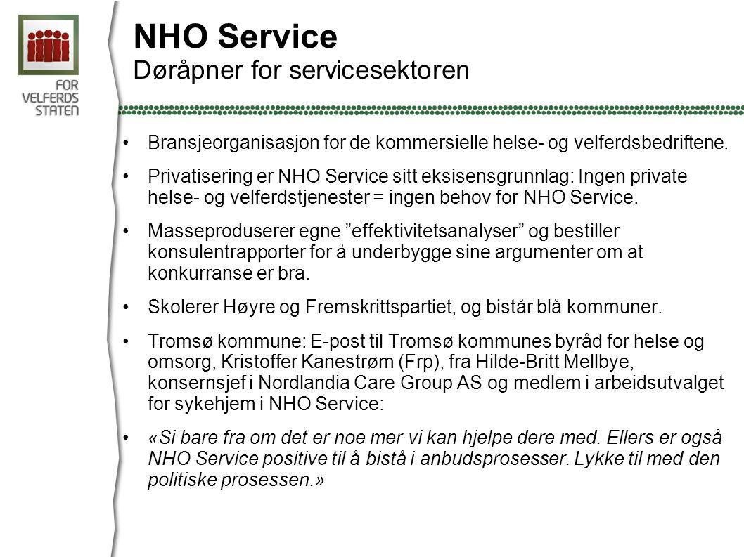 NHO Service Døråpner for servicesektoren