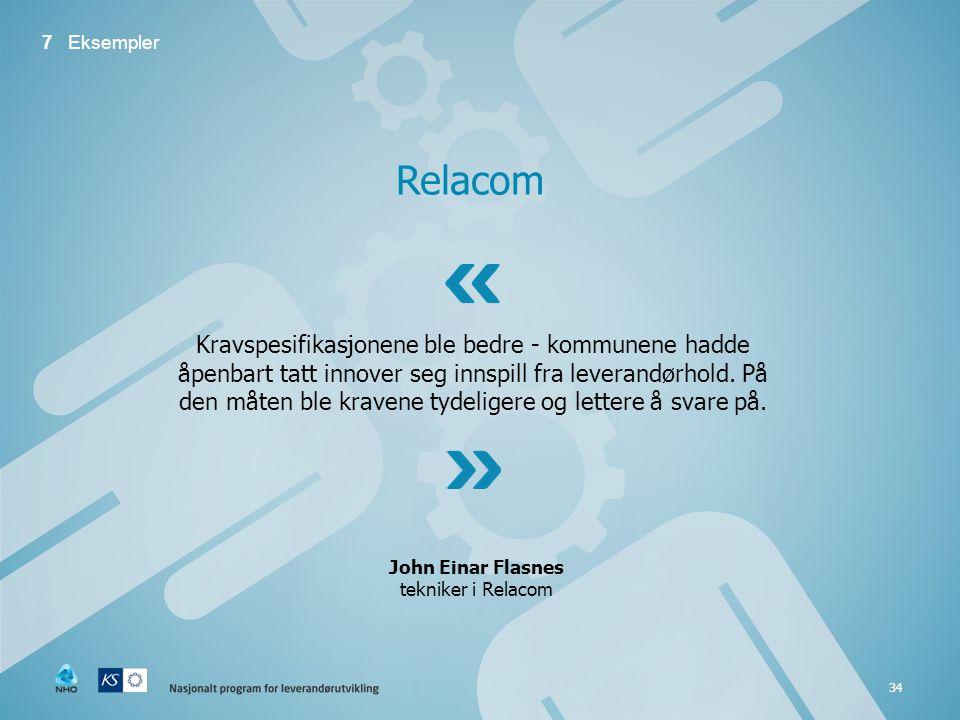 7 Eksempler Relacom.