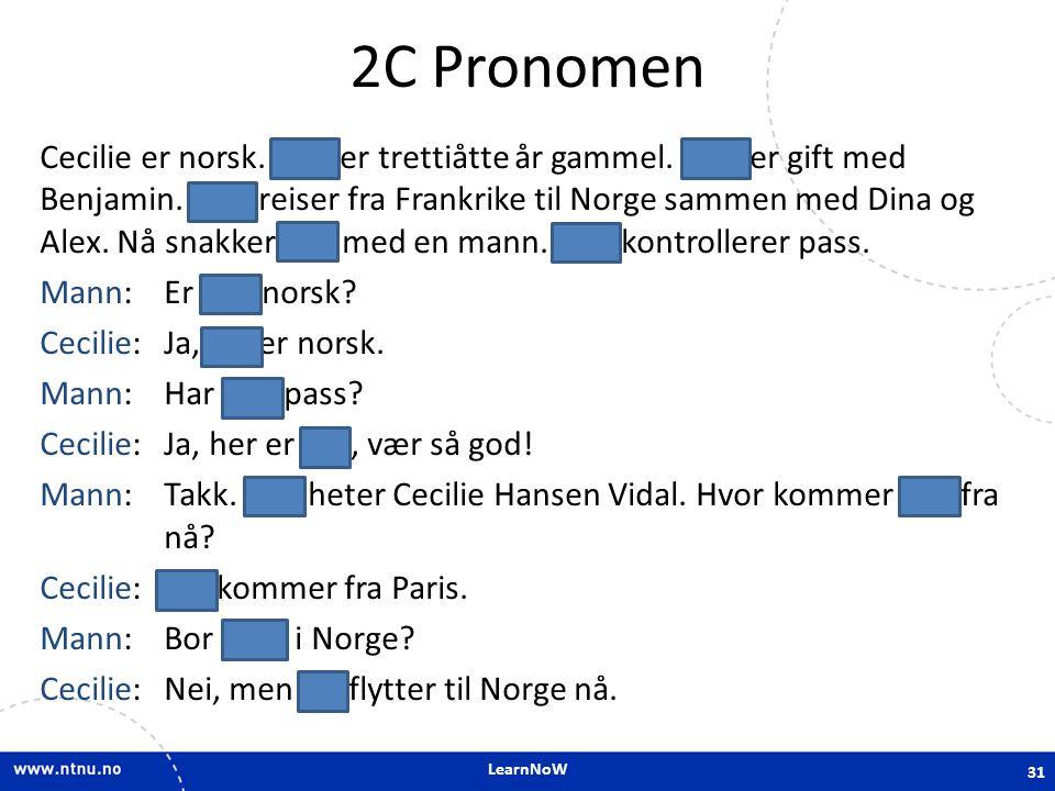 2C Pronomen