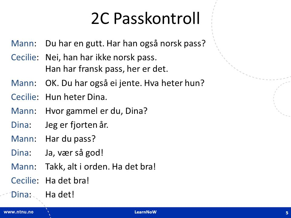 2C Passkontroll