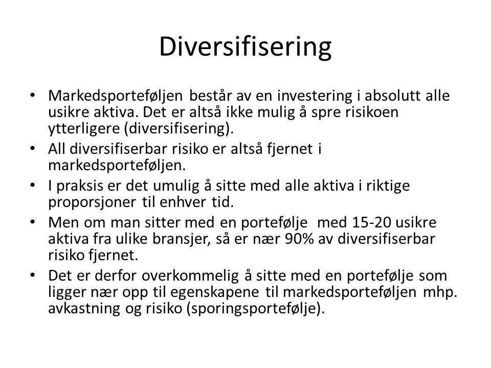 Diversifisering