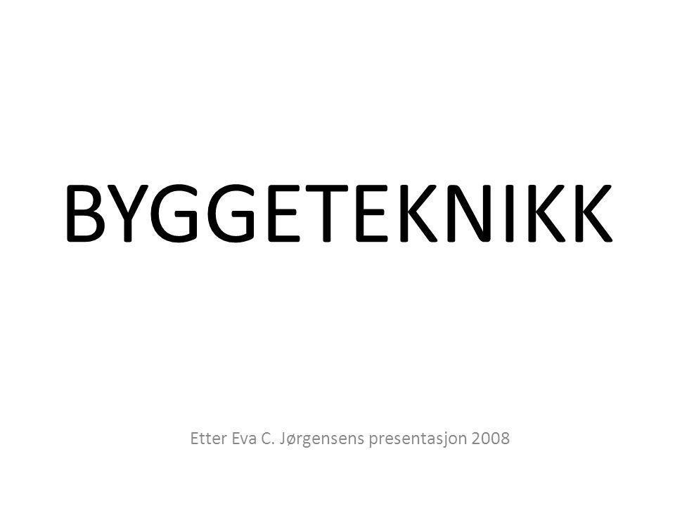 Etter Eva C. Jørgensens presentasjon 2008