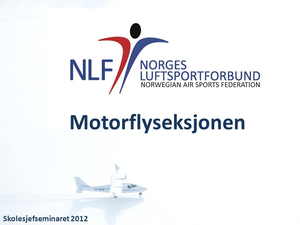 Motorflyseksjonen Skolesjefseminaret 2012