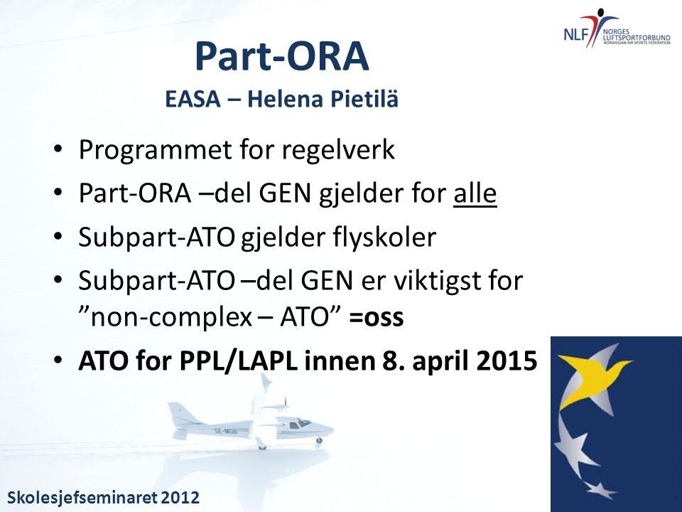 Part-ORA EASA – Helena Pietilä