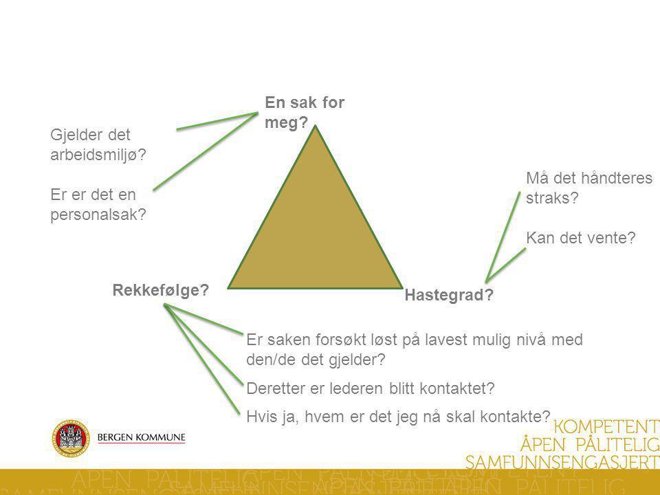 Verneombuds trekant -Huskeregel-
