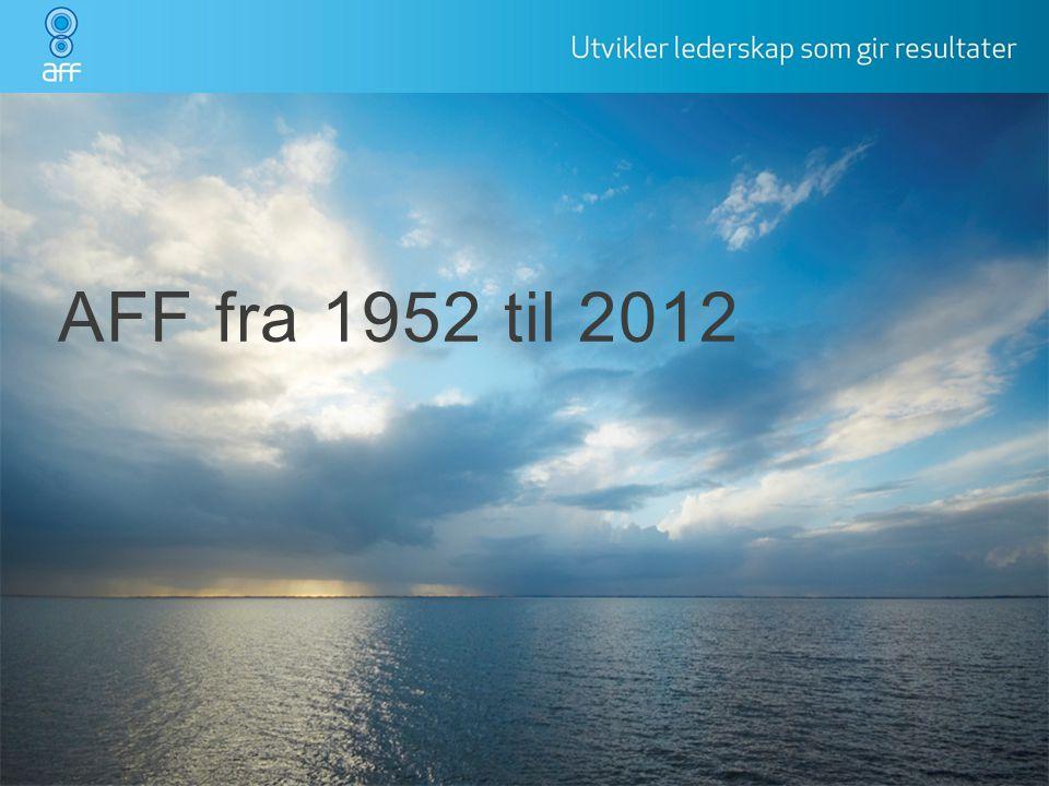 AFF fra 1952 til 2012