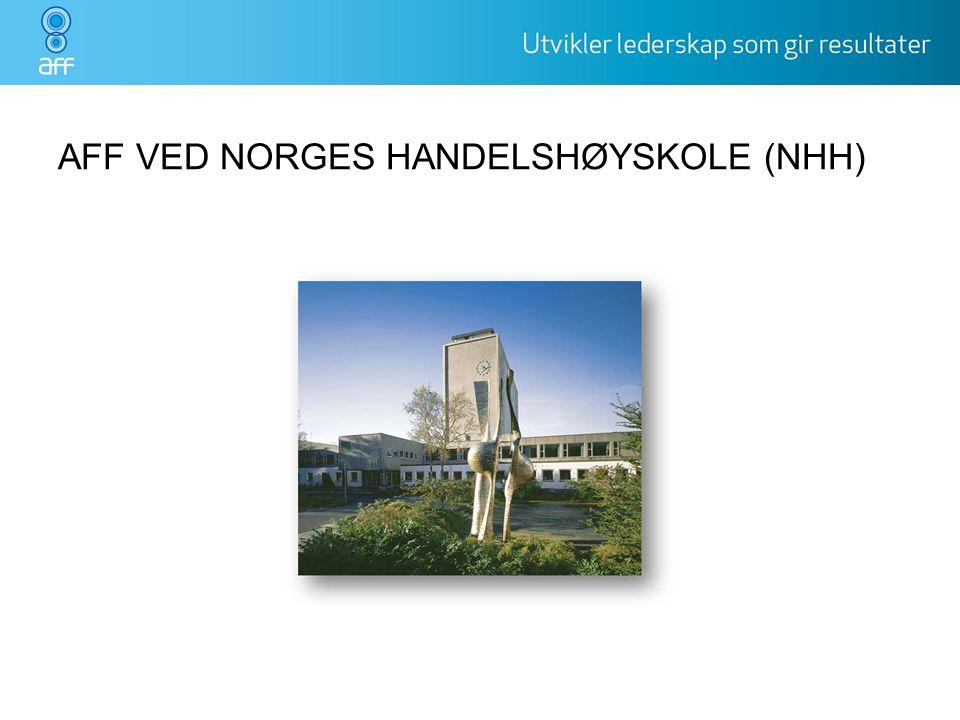 AFF VED NORGES HANDELSHØYSKOLE (NHH)