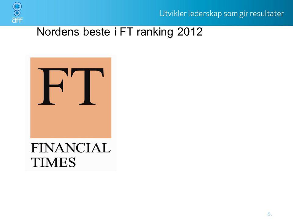 Nordens beste i FT ranking 2012