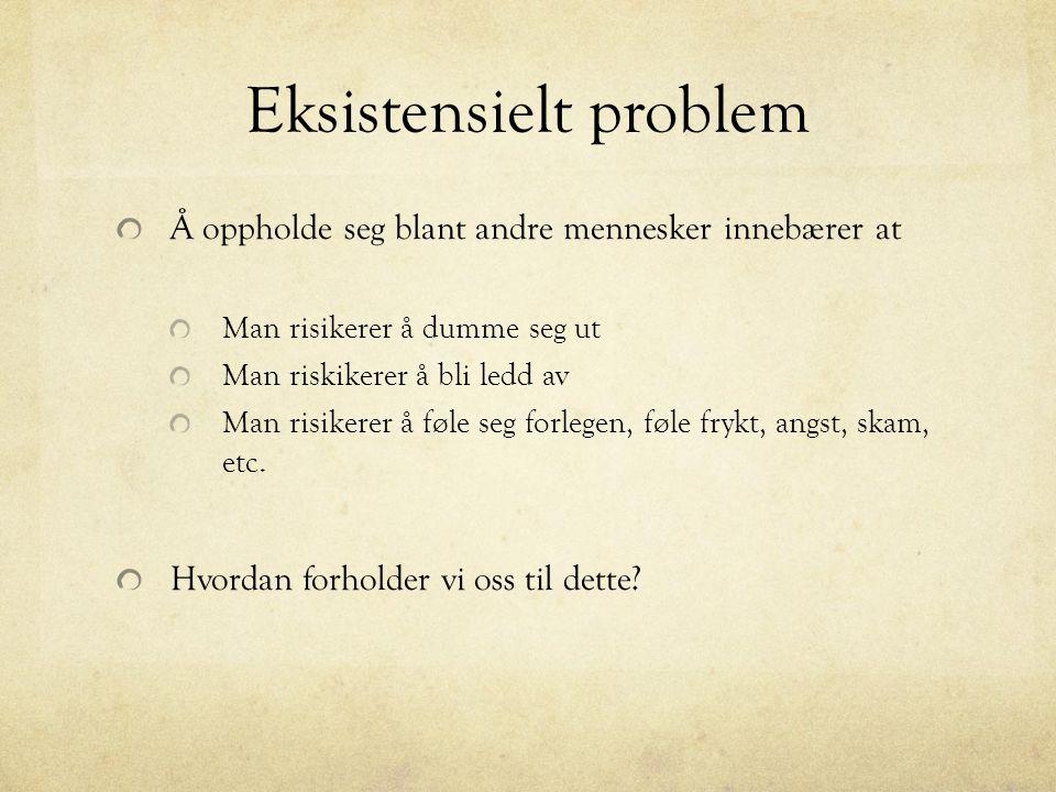 Eksistensielt problem