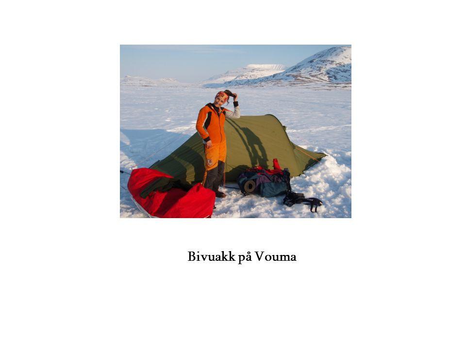 Bivuakk på Vouma