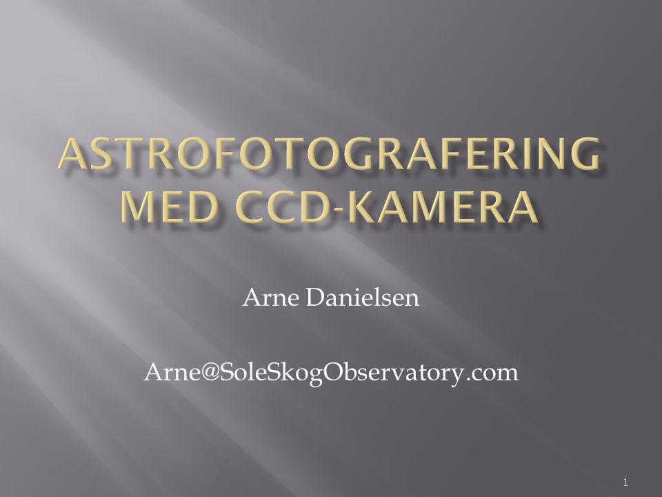 Astrofotografering Med CCD-kamera