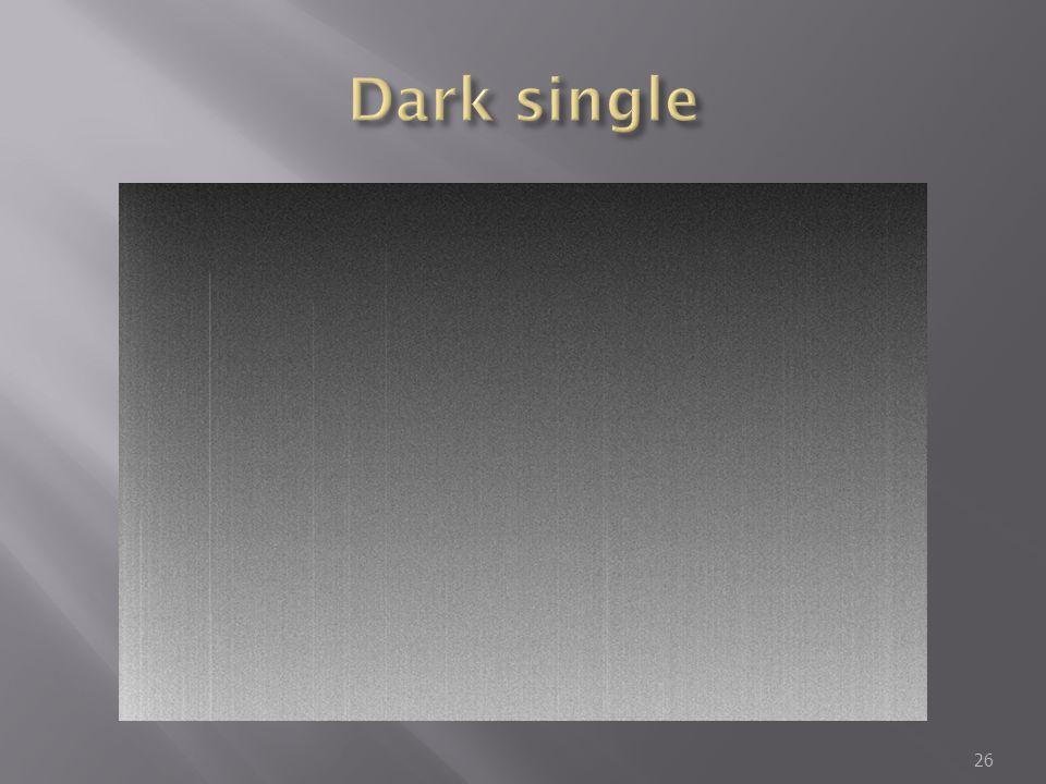 Dark single