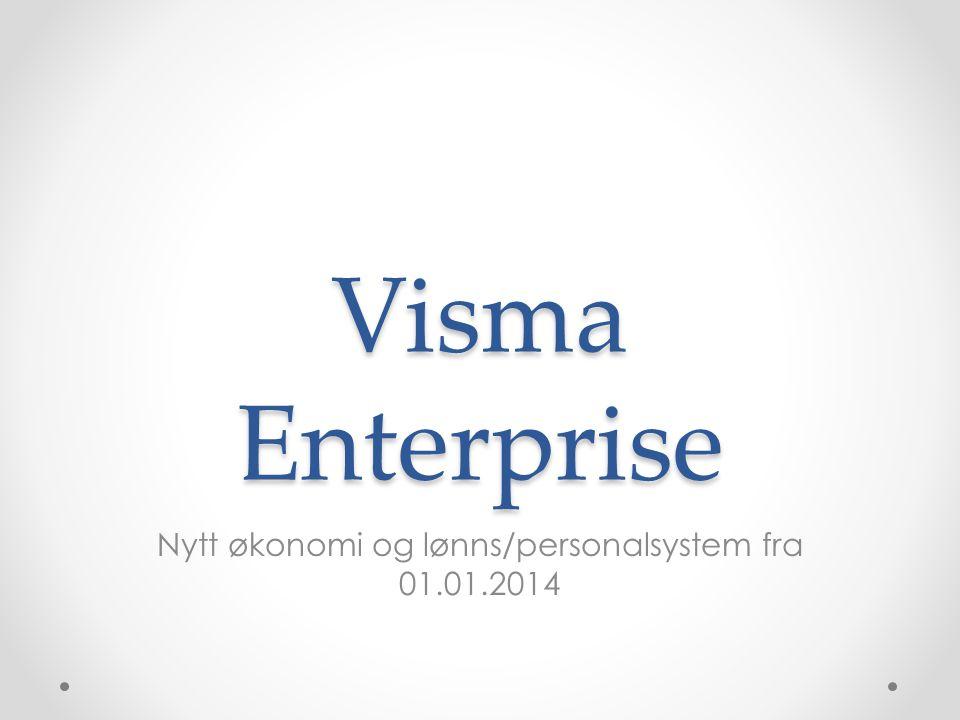 Nytt økonomi og lønns/personalsystem fra 01.01.2014