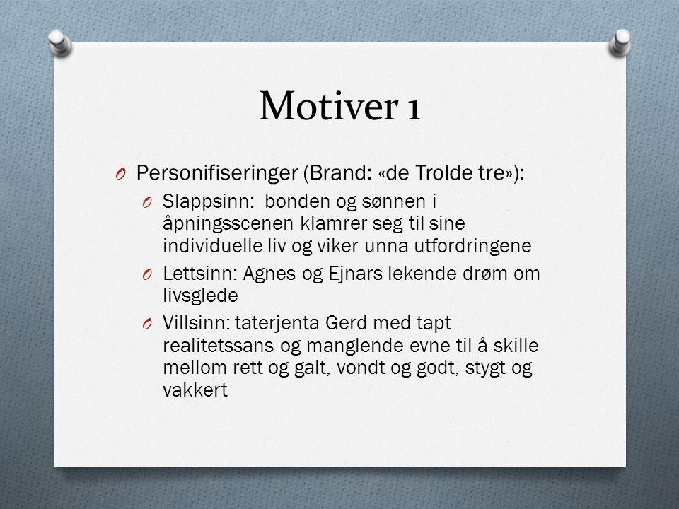 Motiver 1 Personifiseringer (Brand: «de Trolde tre»):