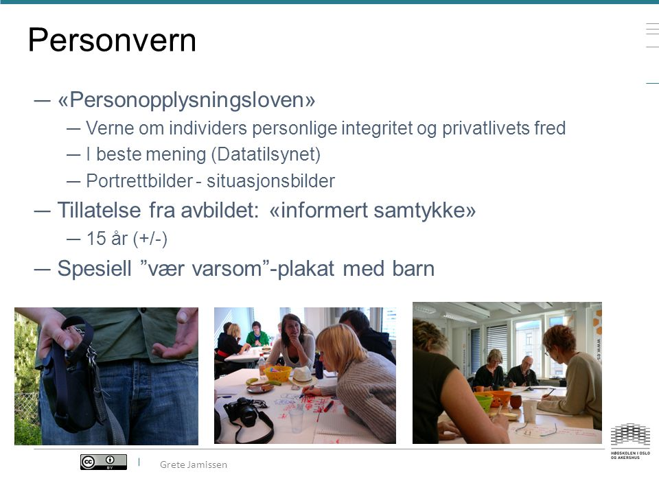 Personvern «Personopplysningsloven»