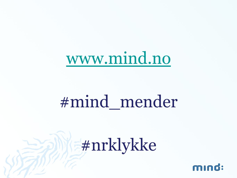 www.mind.no #mind_mender #nrklykke