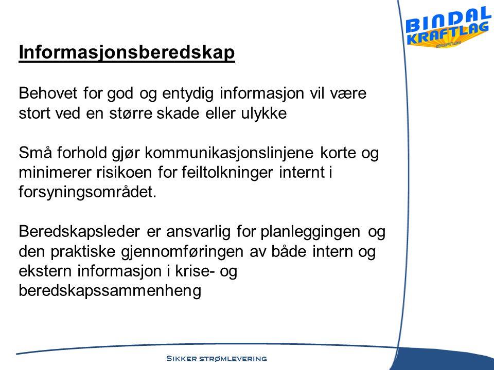 Informasjonsberedskap