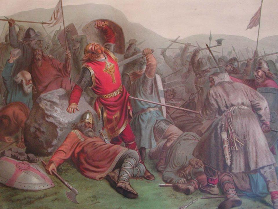 Olav Haraldsson I 1015 ankom Olav Haraldsson Norge og fullførte rikssamlingen.