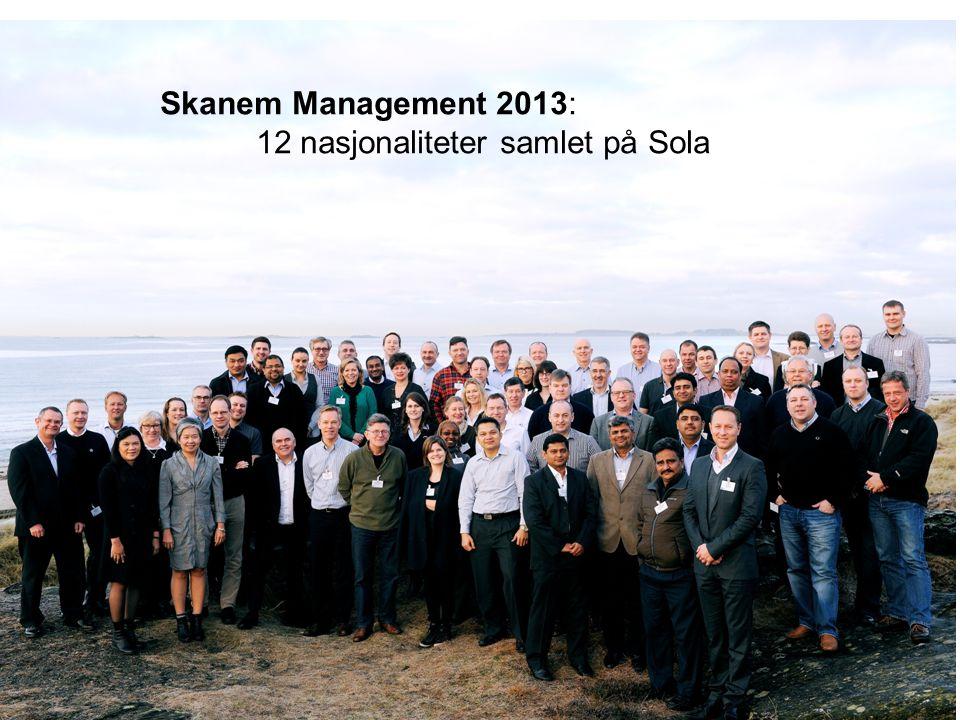 Skanem Management 2013: 12 nasjonaliteter samlet på Sola