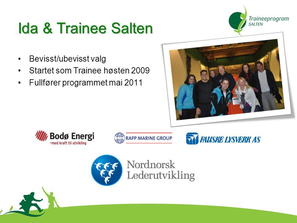 Ida & Trainee Salten Bevisst/ubevisst valg