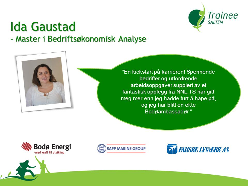Ida Gaustad - Master i Bedriftsøkonomisk Analyse