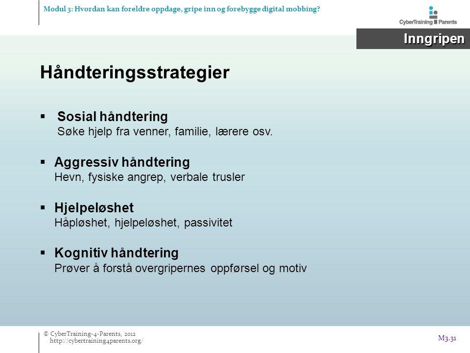 Håndteringsstrategier