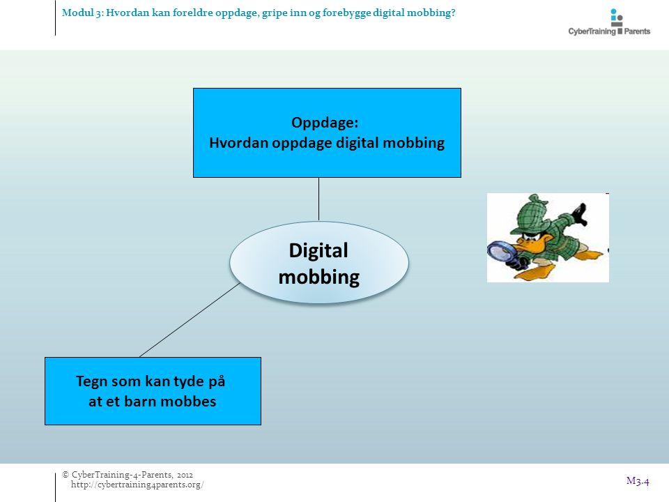 Hvordan oppdage digital mobbing