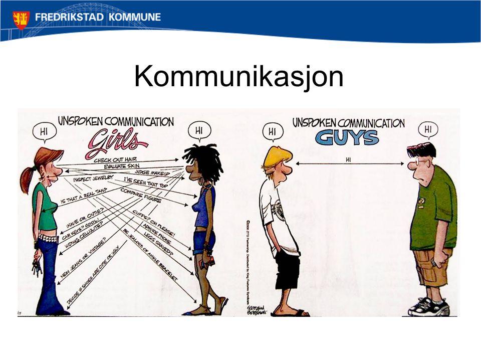 Kommunikasjon Non-verbal kommunikasjon kan være komplisert!