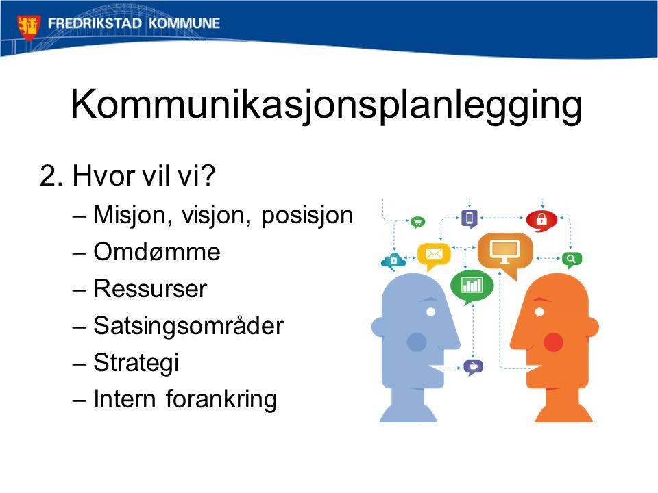 Kommunikasjonsplanlegging