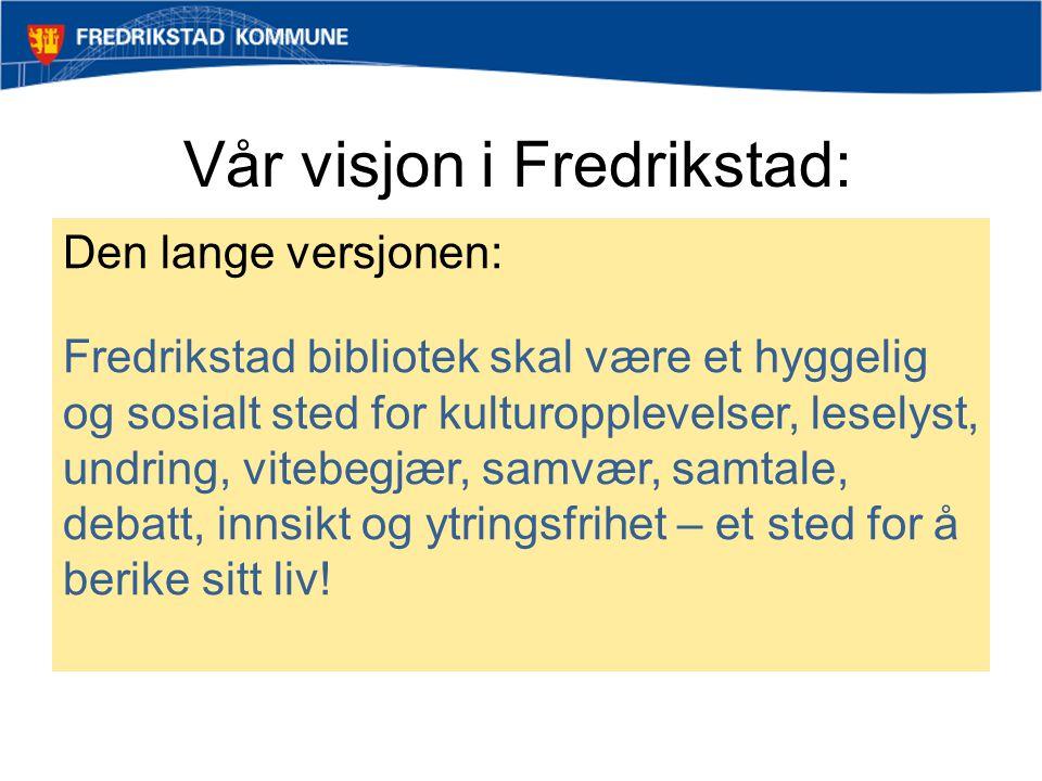 Vår visjon i Fredrikstad: