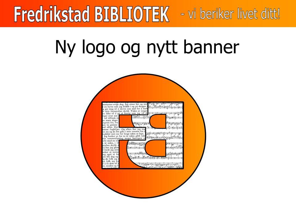 Ny logo og nytt banner