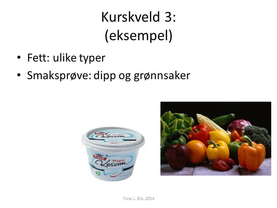 Kurskveld 3: (eksempel)