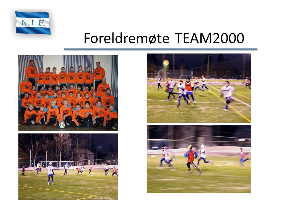 Foreldremøte TEAM2000