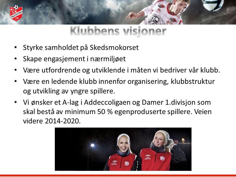 Klubbens visjoner Styrke samholdet på Skedsmokorset