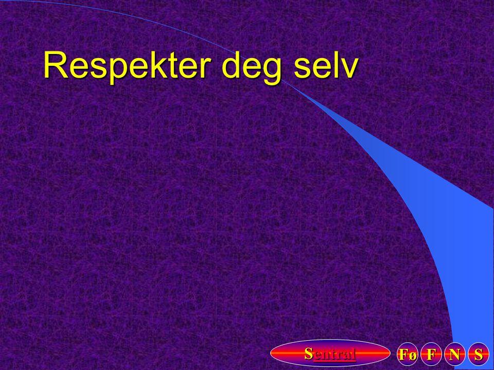 Respekter deg selv