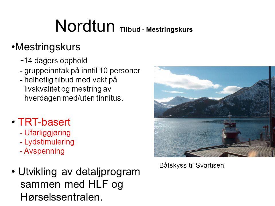 Nordtun Tilbud - Mestringskurs