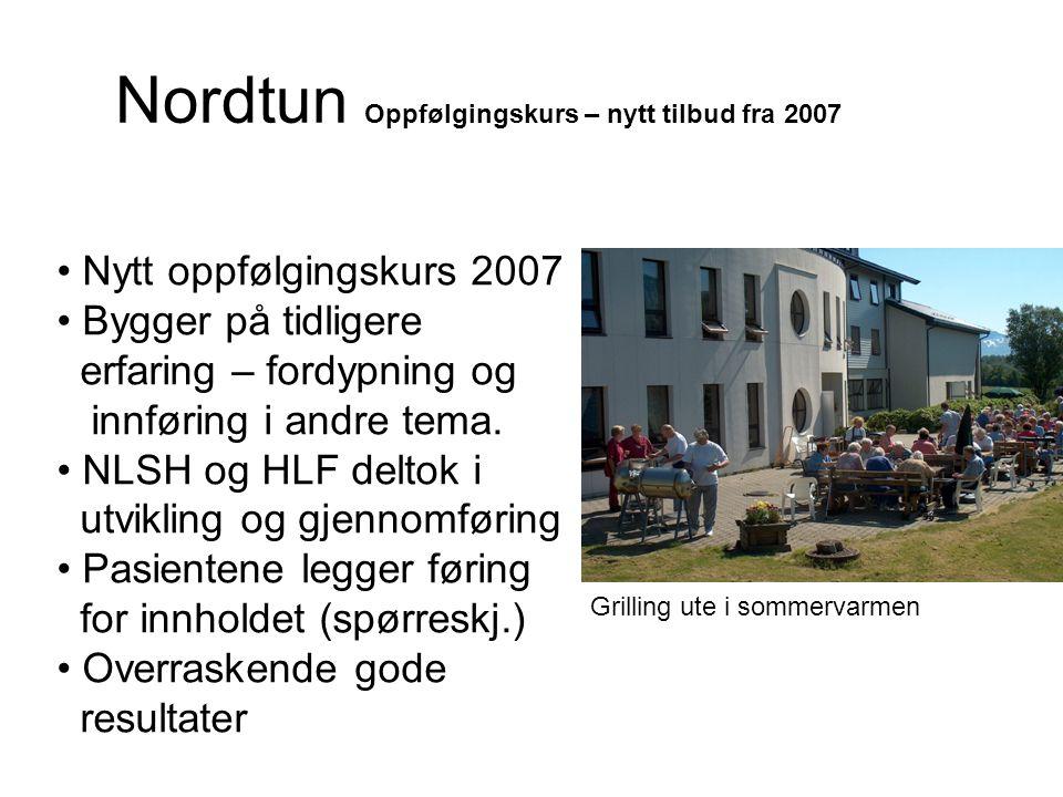 Nordtun Oppfølgingskurs – nytt tilbud fra 2007
