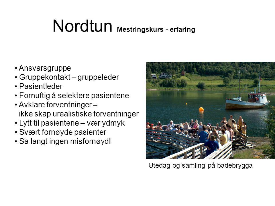 Nordtun Mestringskurs - erfaring