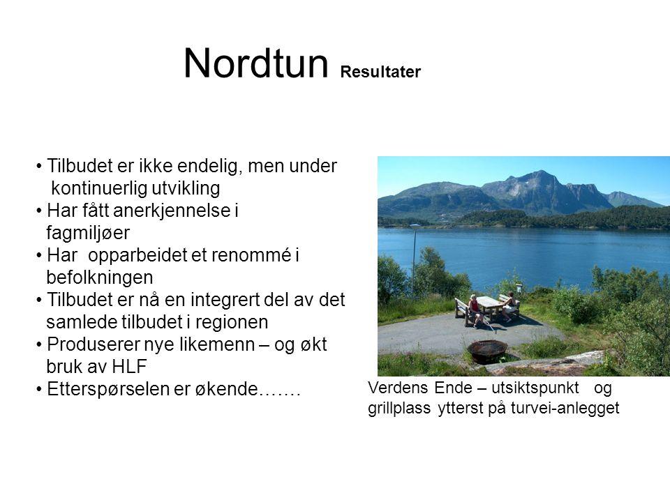 Nordtun Resultater Tilbudet er ikke endelig, men under