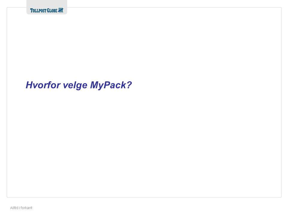 Hvorfor velge MyPack